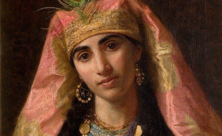 Картина французской художницы Софи Жанжамбр Андерсон «Шахерезада»