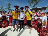 Прилет болельщиков Бразилии и Швейцарии в Ростов-на-Дону
