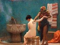Картина французского художника Жан-Леона Жерома «Баня»