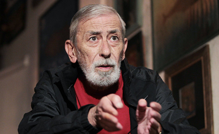 Интервью с певцом Вахтангом Кикабидзе