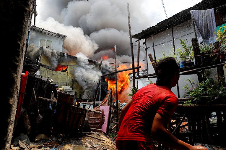Пожар в Мунтинлупа, Филиппины