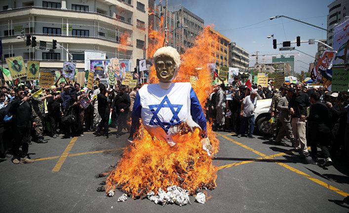 Акция протеста в Тегеране, Иран