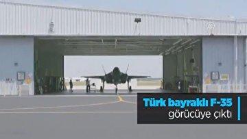 F-35 с турецким флагом