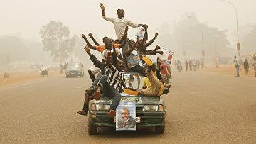 Город Банги в Центральноафриканской Республике