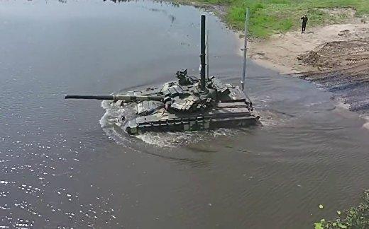 Украинские танки нащупали дно