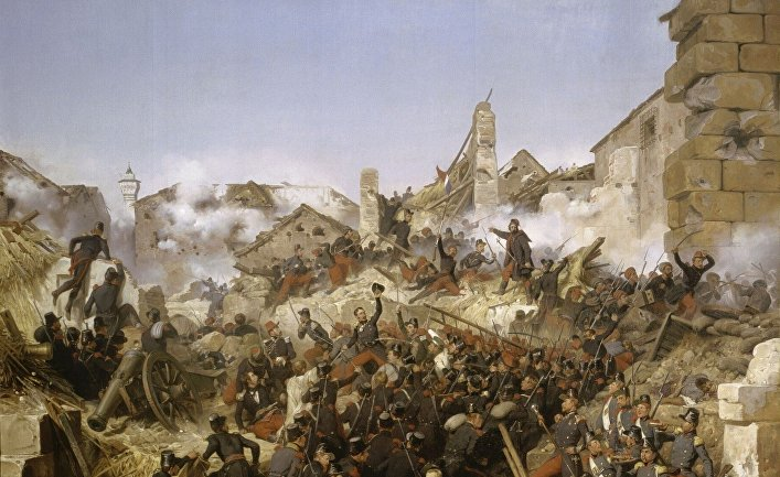 Взятие Константины французскими войсками 13 октября 1837