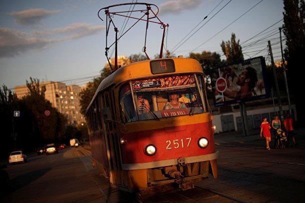 Трамвай в Волгограде