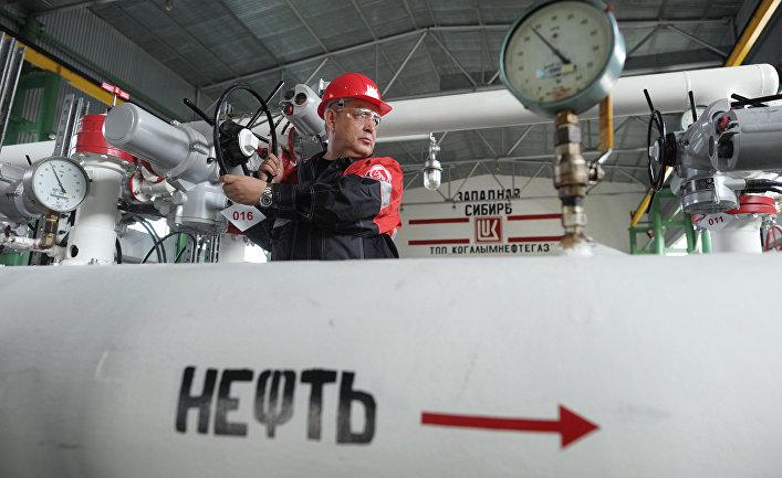 """Пункт подготовки нефти компании """"Лукойл"""" в Ханты-Мансийском автономном округе"""