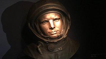 В лондонском музее науки открыли скульптуру Юрия Гагарина