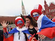 Болельщики ЧМ-2018 в Москве