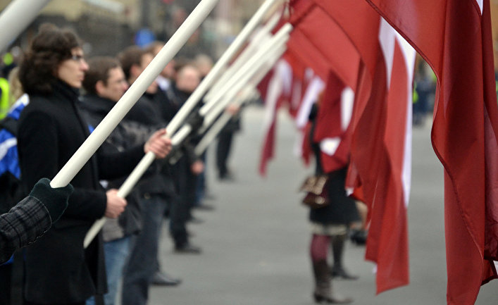 Флаги Латвии
