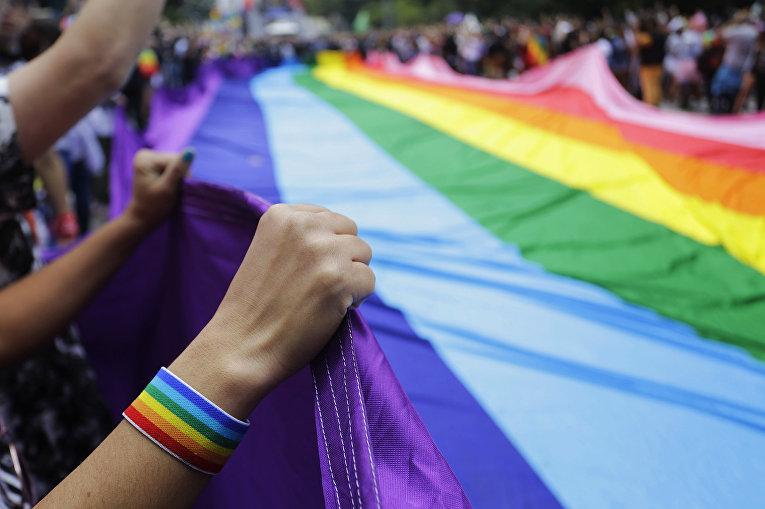 Ежегодный гей-прайд в Сан-Паулу, Бразилия