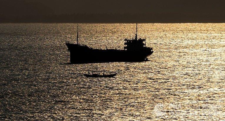 Корабль в Южно-Китайском море