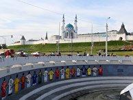 Граффити к Чемпионату мира по футболу в Казани
