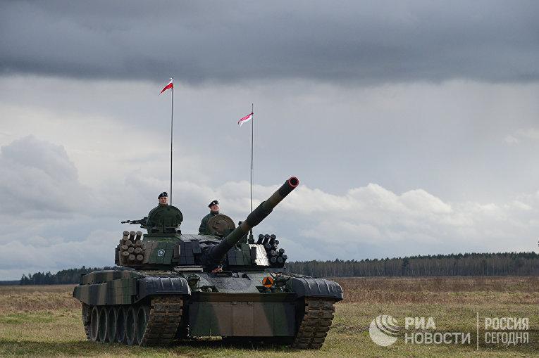"""Танк PT-91 """"Тварды"""""""