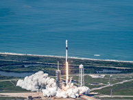 """Запуск спутника """"Бангабанду-1"""", ракета-носитель «Фэлкон 9»"""