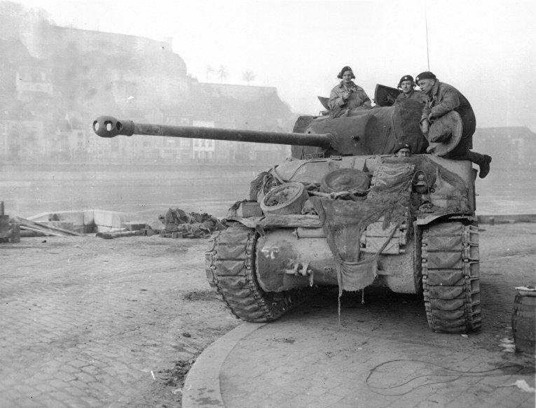 Американский танк M4 Sherman