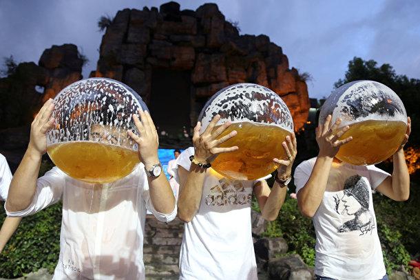 Пивной чемпионат в китайском городе Ханчжоу