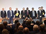 Президент РФ В. Путин на Десятом саммите БРИКС  в ЮАР