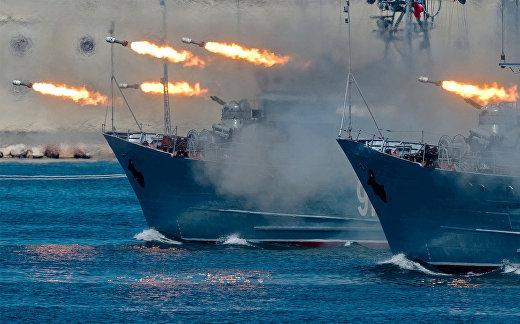Празднование Дня ВМФ
