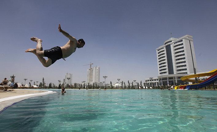 Курортный комплекс в Туркменистане