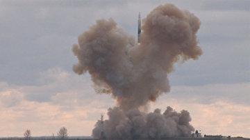 """Испытания ракетного комплекса """"Авангард"""""""