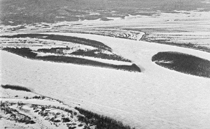 Вид на остров Даманский на реке Уссури