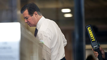 Пол Манафорт прибыл в здание суда в Вашингтоне