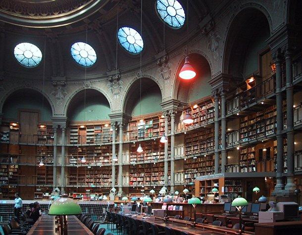 Национальная библиотека Франции