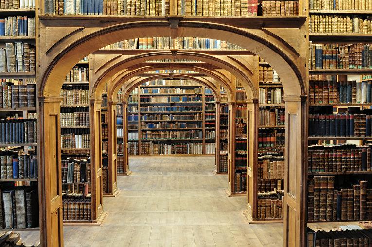 Верхнелужицкая научная библиотека в Герлице, Германия