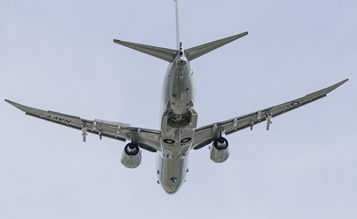 """Противолодочный самолет P-8 """"Посейдон"""""""