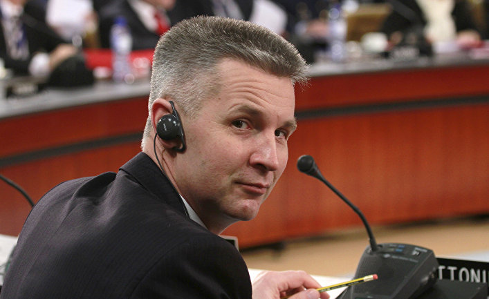 Латвийский политик Артис Пабрикс