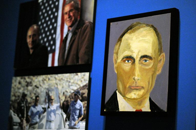 Портрет Президента России Владимира Путина