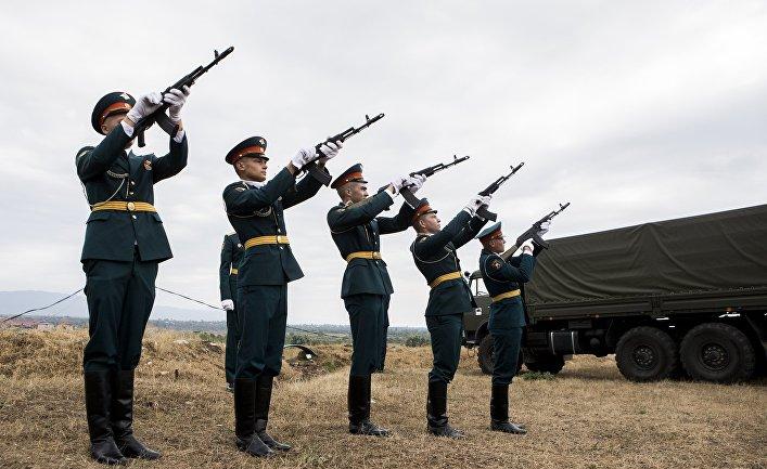 Траурные мероприятия в Абхазии и Ю. Осетии в память о погибших в конфликте с Грузией