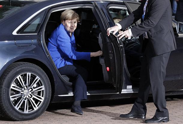 Ангела Меркель в Берлине