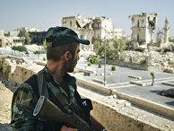 Руины города Алеппо, Сирия