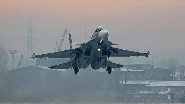 Истребитель Су-30 СМ