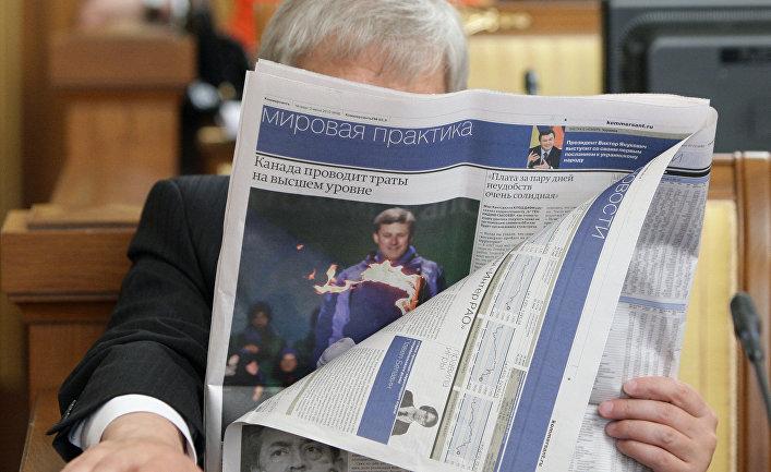 """Западные """"борцы за свободу слова"""" против российских СМИ"""