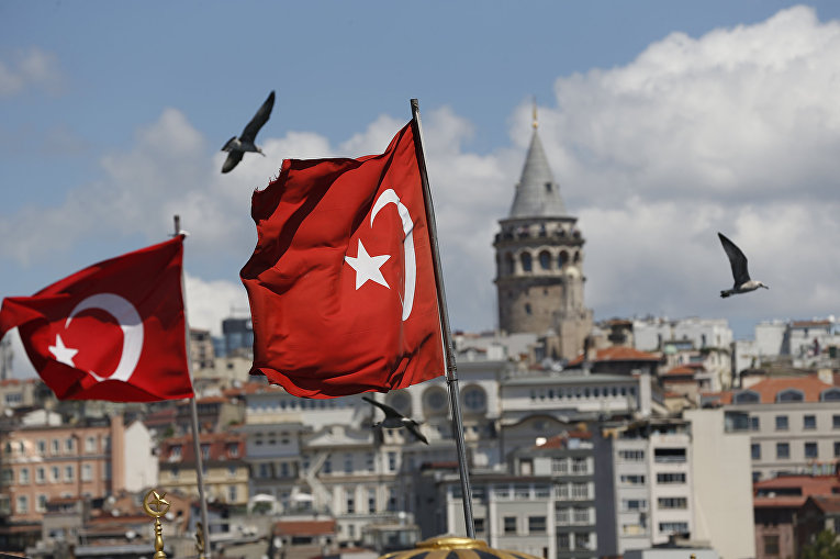 Вид на Стамбул, Турция