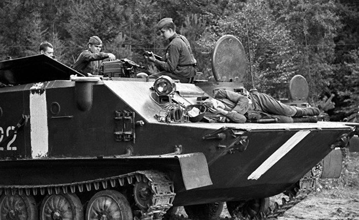События в Чехословакии. 1969 год