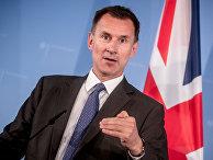 Министр иностранных дел Великобритании Джереми Хант