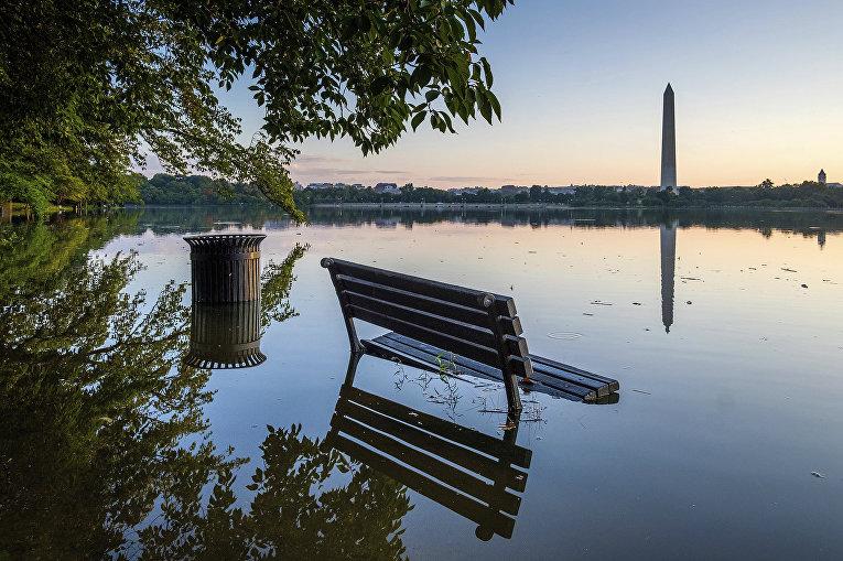 Наводнение в Вашингтоне