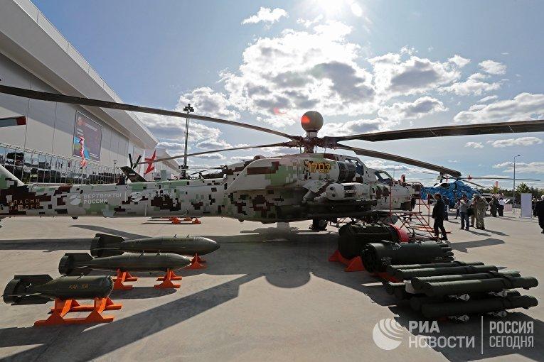 """Вертолет Ми-28НЭ на форуме """"Армия-2018"""""""