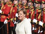 Канцлер Германии Ангела Меркель в Тбилиси
