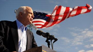 Политик-республиканец, сенатор США Джон Маккейн