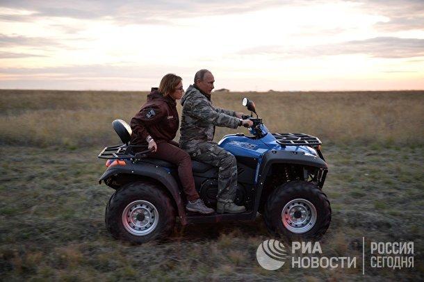 Рабочая поездка президента РФ В. Путина в Оренбургскую область