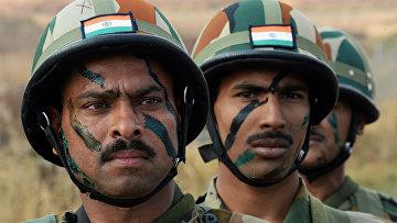 Военнослужащие специального подразделения Вооруженных Сил Индии
