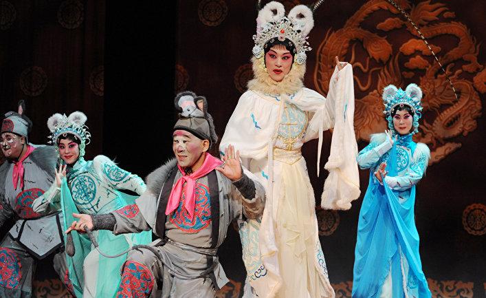 Чеховский Фестиваль. Спектакли китайской оперы Гуо Гуанг