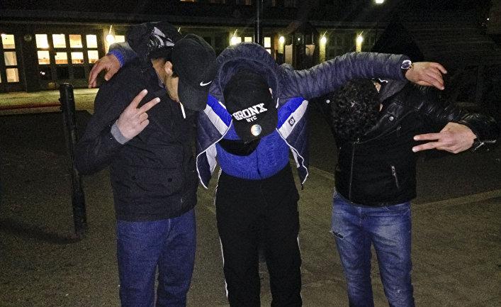 Несовершеннолетние мигранты из Марокко в Стокгольме