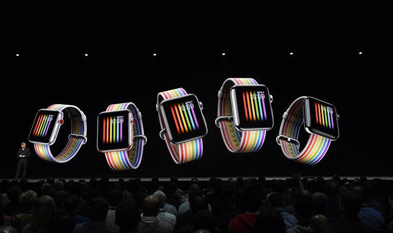 Презентация Apple Watch в Сан-Хосе, Калифорния